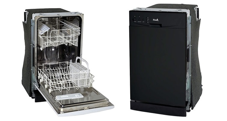 Avanti Model DWE1801B Built-In Dishwasher