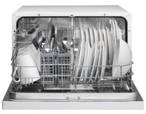 Danby DDW611WLED Countertop Dishwasher-Wh