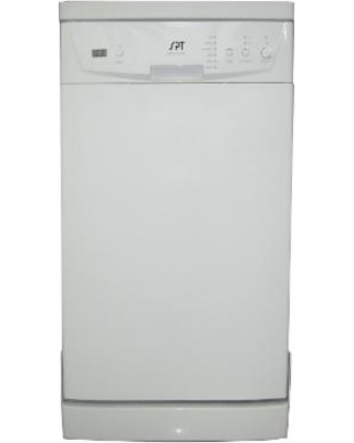 SPT SD-9241W Energy Star Portable 18-inch Dishwasher